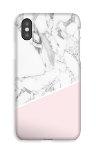 White Marble and Pink CaseApp