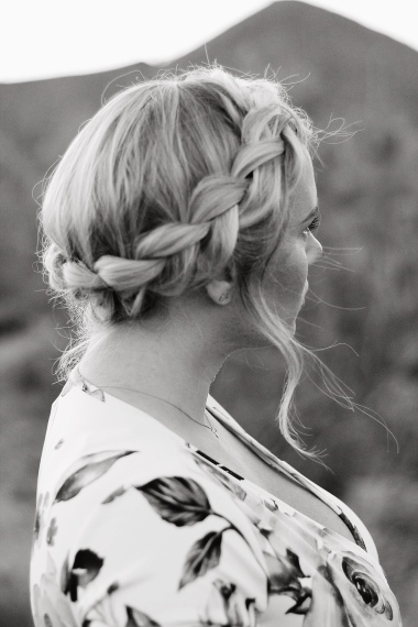 and a crown braid.